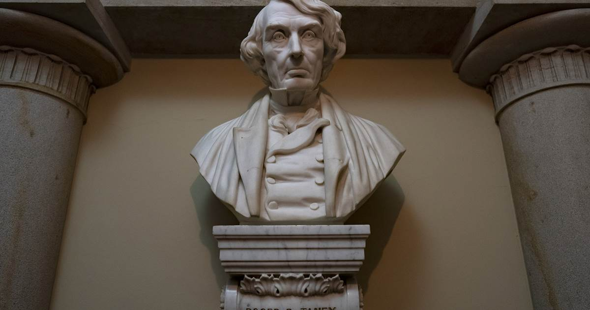 House to vote on removing Confederate statues, bust of chief justice, from Capitol