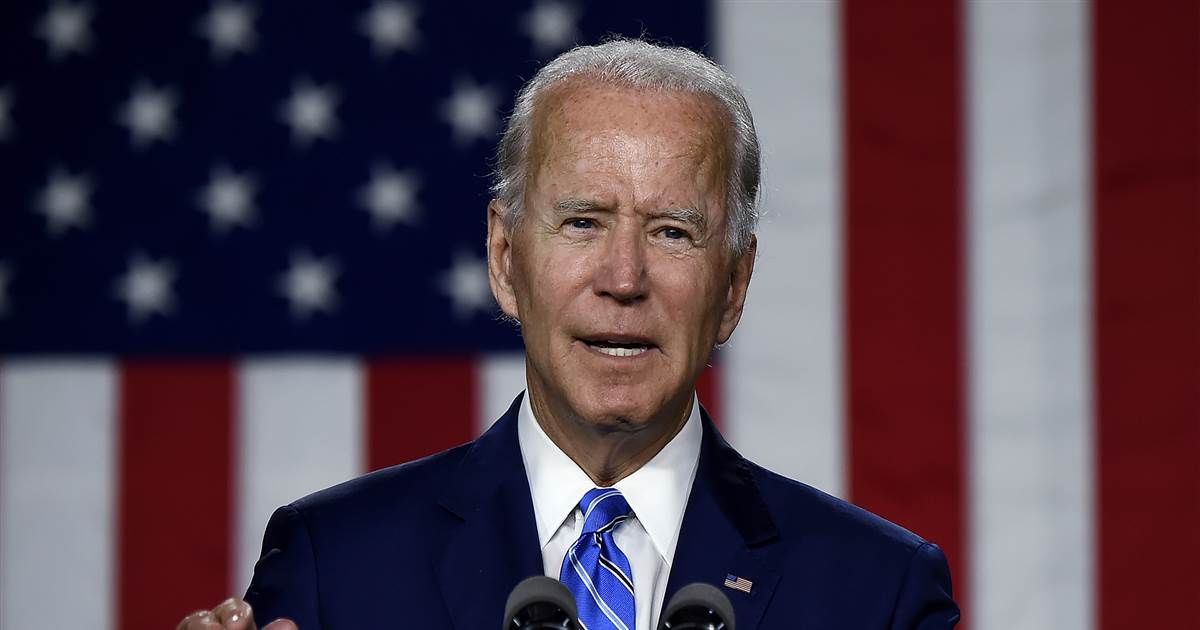 Biden campaign ramps up for 100-day push