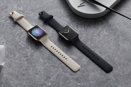 The Oppo Watch charges its way to a day's worth of battery life in 15 minutes