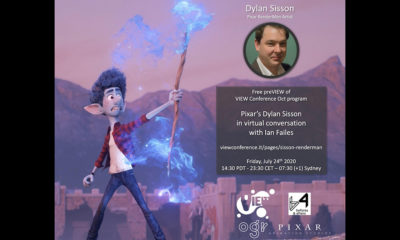 Pixar's Dylan Sisson to Discuss RenderMan Technology in Free VIEW Conference PreVIEW Online Talk