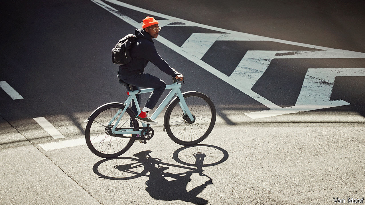 The pandemic is giving e-bikes a boost