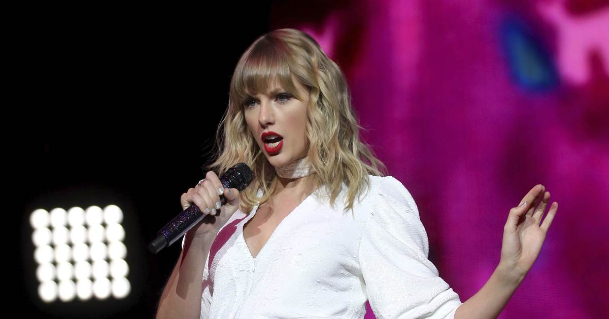 Taylor Swift slams Trump's 'calculated dismantling of USPS'