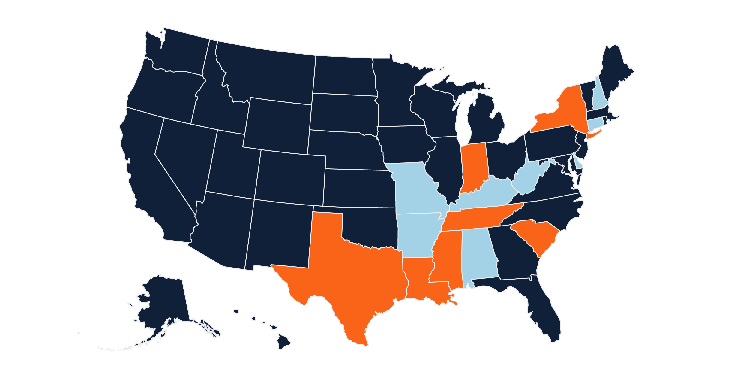 A state-by-state guide to voting by mail and early in-person voting