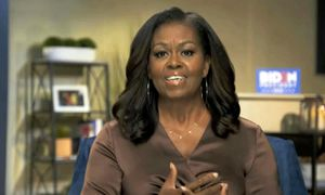 Michelle Obama 'Vote' necklace has DNC viewers voting yes