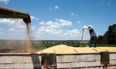 Farmers are selling soybeans two years in advance in rare trade