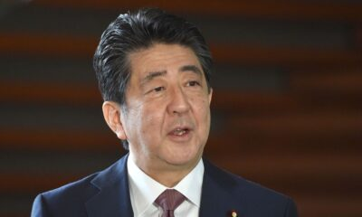 Shinzo Abe Visits Tokyo War Shrine Linked to Militarist Past