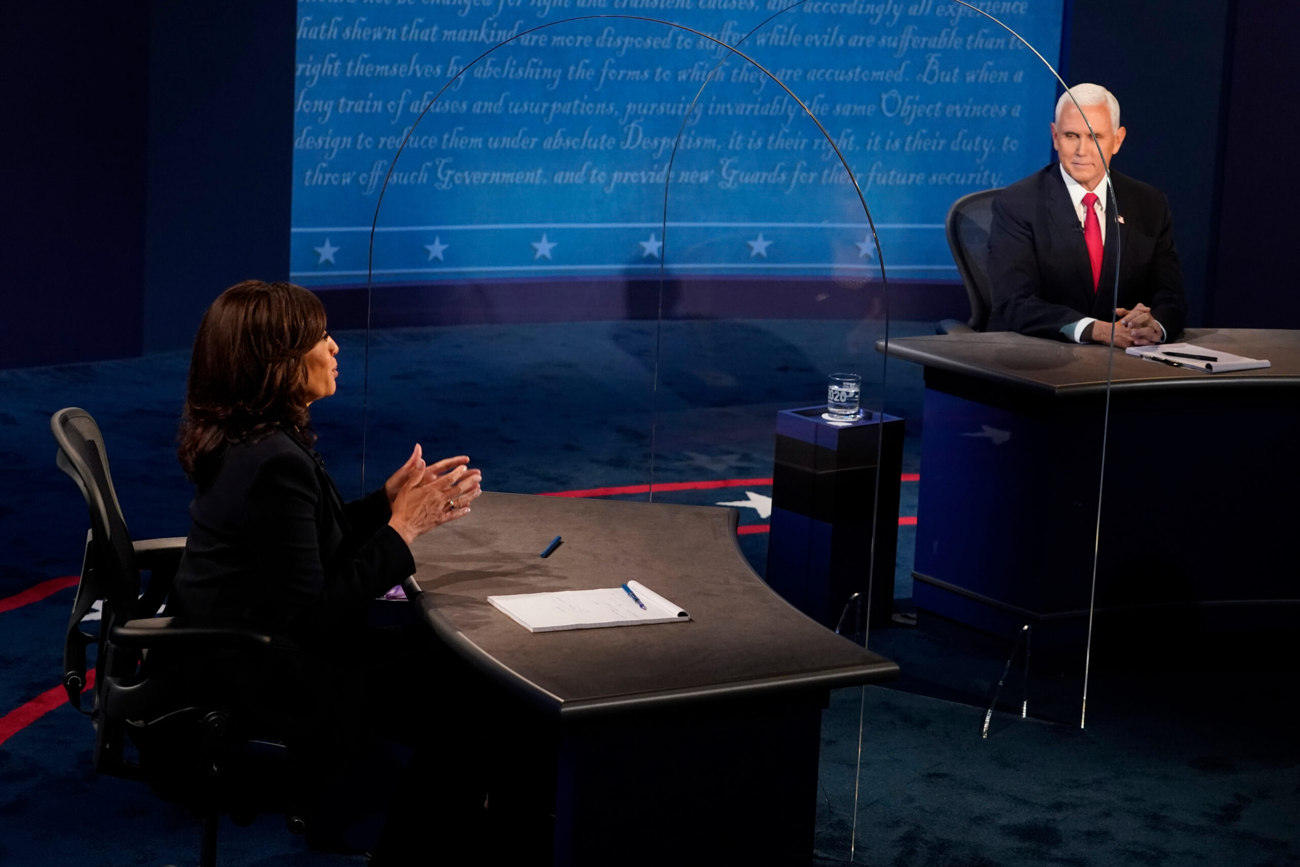 Where Harris and Pence won and lost in the vice presidential debate