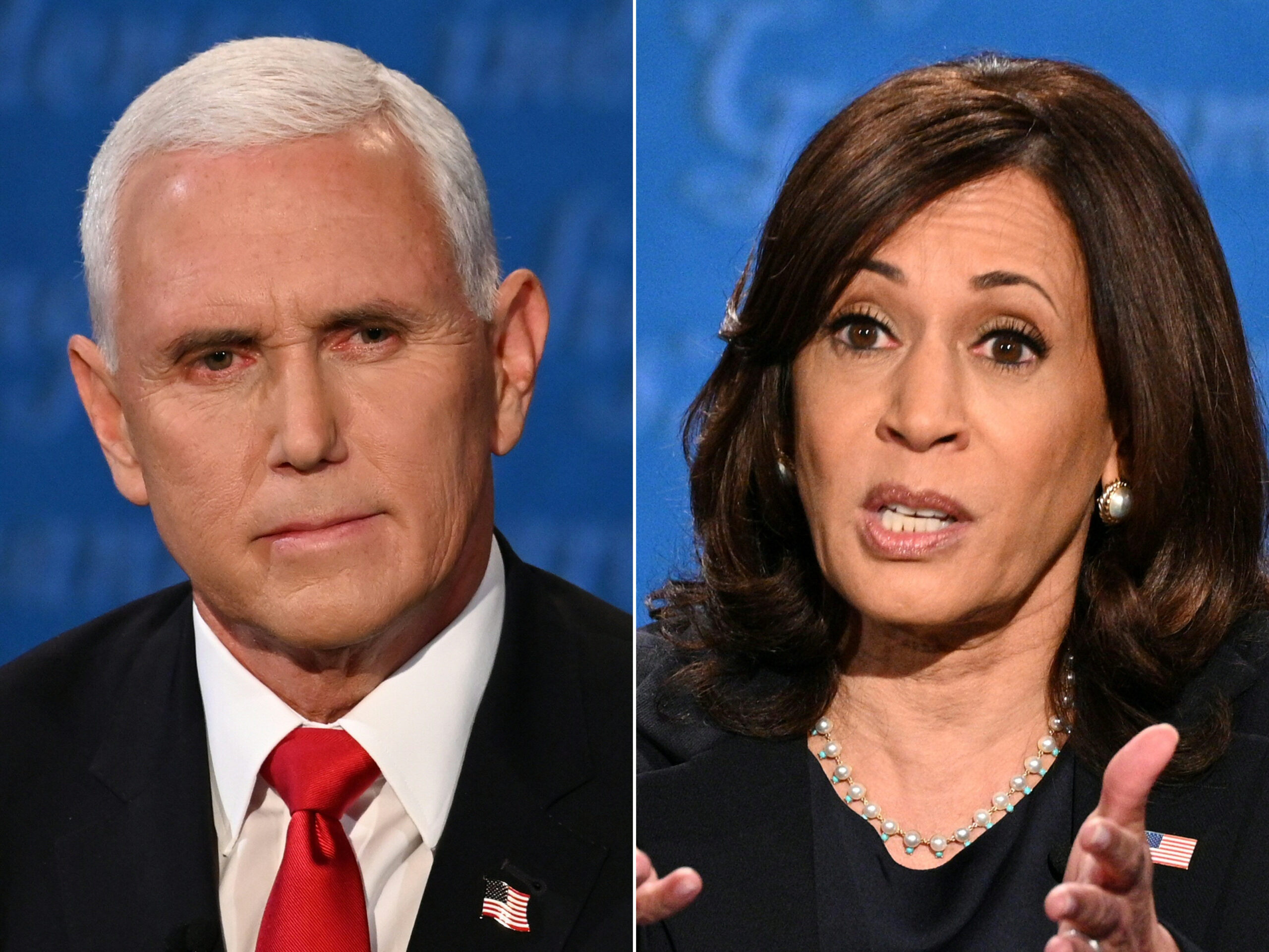 Both Pence and Harris completely dodged a question about presidential succession