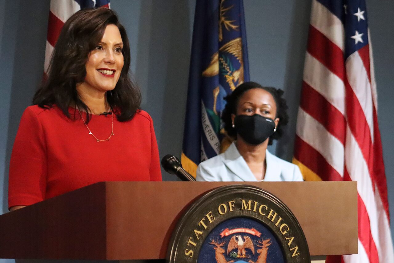 Whitmer: Still concerned about safety because of White House 'rhetoric'