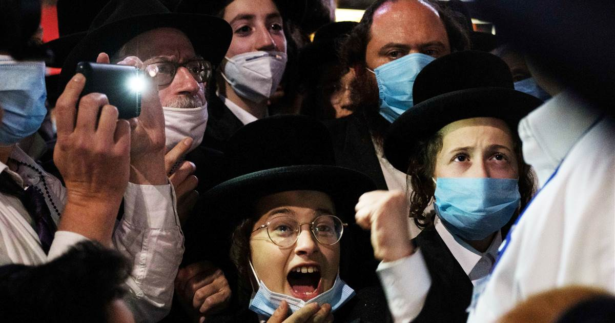 Leader of protest against NYC Covid-19 rules arrested in alleged assault