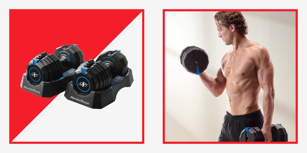 NordicTrack's Budget-Friendly Adjustable Dumbbells Will Level Up Your Home Gym