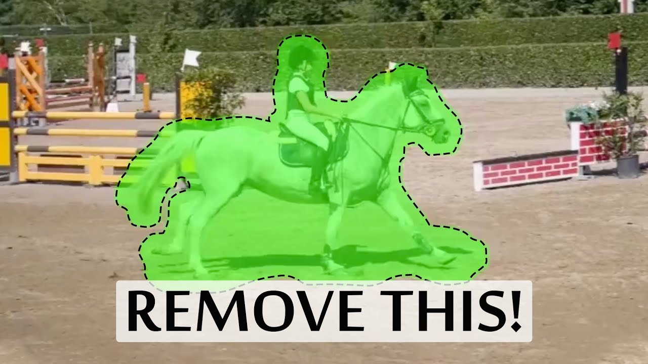 Using AI to remove objects from photos and video