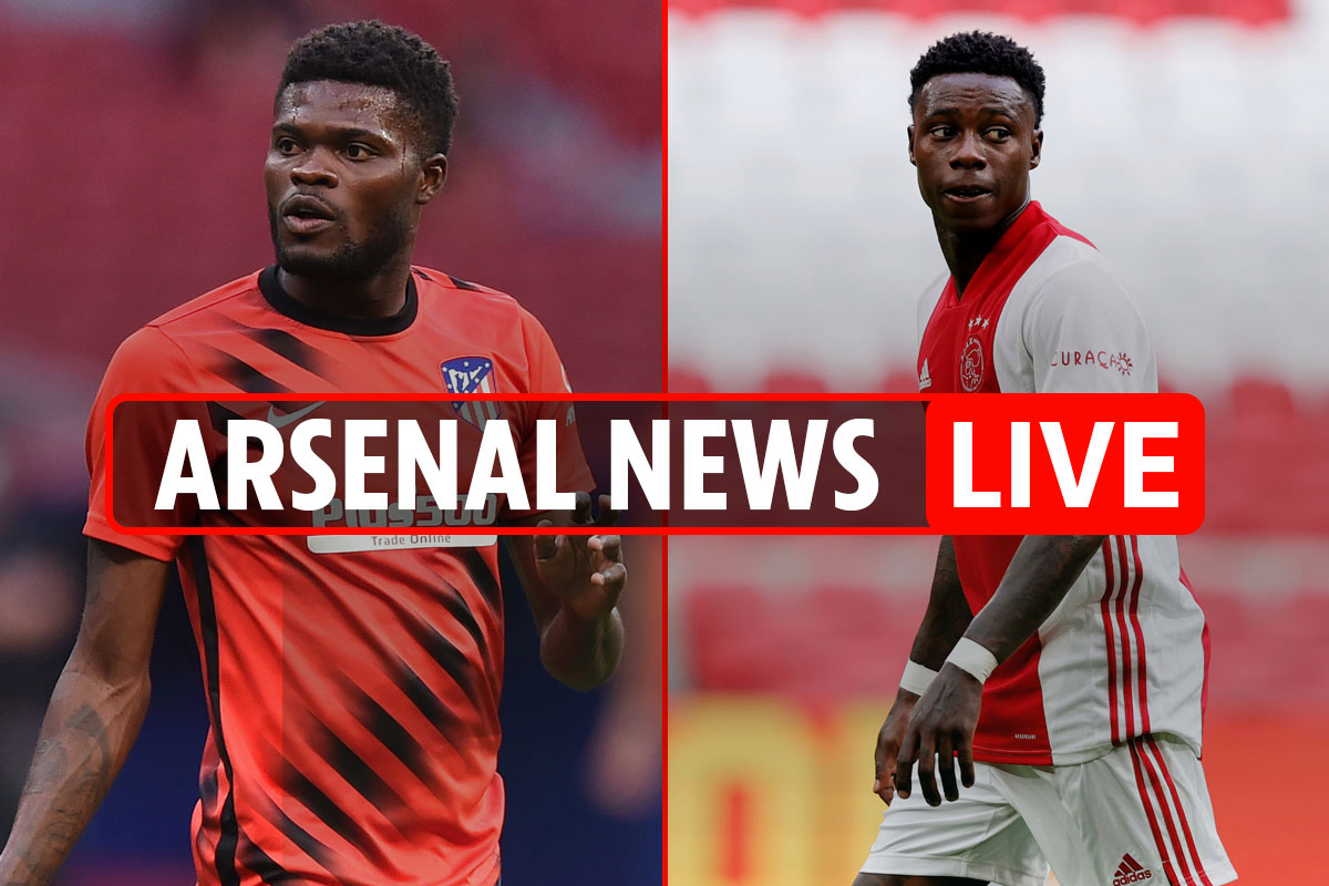 2pm Arsenal transfer news LIVE: Partey 'to earn over £200,000-a-week', Quincy Promes £25m interest, Willian LATEST