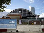 Coronavirus: First Nightingale hospital in England reopens in Manchester for Covid-19 patients