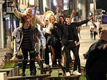 Revellers enjoy night out in Leeds and ignore social distancing as city is put on Covid 'watch list'