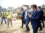 World leaders pledge 250m Euros to rebuild Beirut but insist Lebanon must commit to 'reforms'
