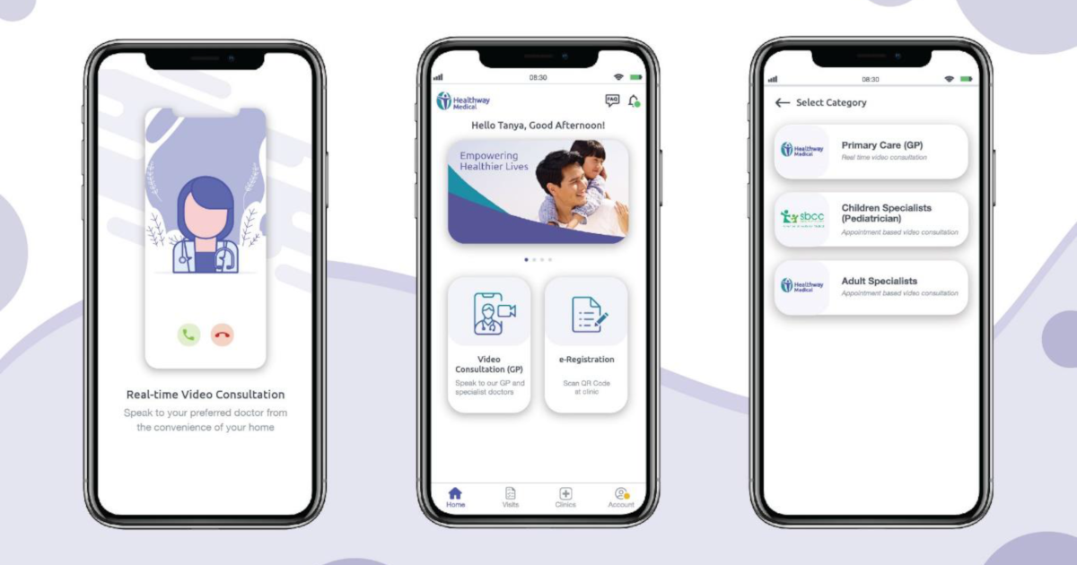 Healthway Medical Group integrates primary and specialist clinics on teleconsult app