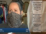 Arizona vintage store's sassy sign mandating masks leads to outpour of support
