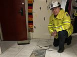 Residents evacuated in the middle of the night after their Sydney apartment block began to CRACK