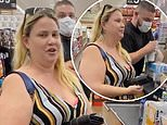 'NRA Karen' threatens to shoot man who asked her to wear a face mask inside a California Stater Bros