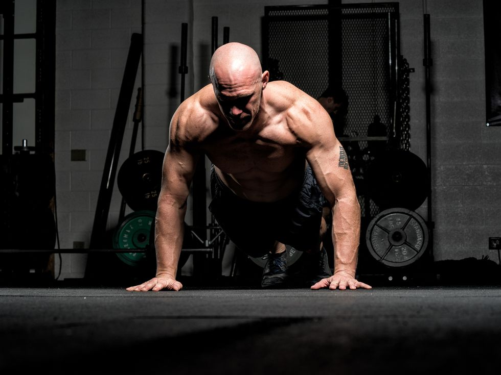 This Upper Body Workout Will Give You an Unbelievable Pump