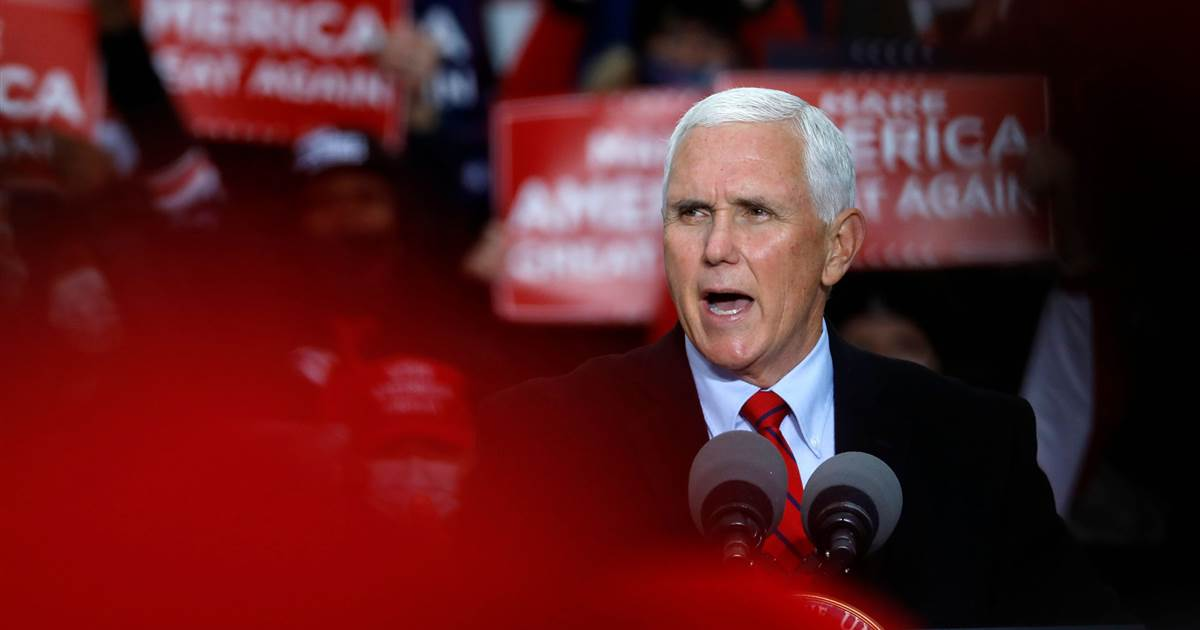 Health experts raise alarms about Pence events after aides test positive for Covid
