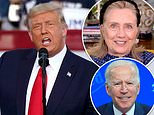 Trump says Hillary Clinton had more energy and was 'a much more intelligent person' than Biden