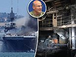 Inferno that roared aboard USS Bonhomme Richard for four days completely gutted 11 of 14 decks