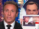 Trump campaign spokesman Tim Murtagh ridicules Chris Cuomo with a huge photo of his Q-tip in insults