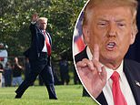 Donald Trump wraps up million-dollar fundraising weekend as aides struggle to explain COVID orders