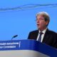 EU's Gentiloni says expects tussle over EU budget veto to be resolved