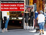 COVID-19 US: Business as usual in El Paso, Texas, as cases rise