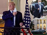 Donald Trump leaves Walter Reed after three nights of COVID treatment and is back in the White House