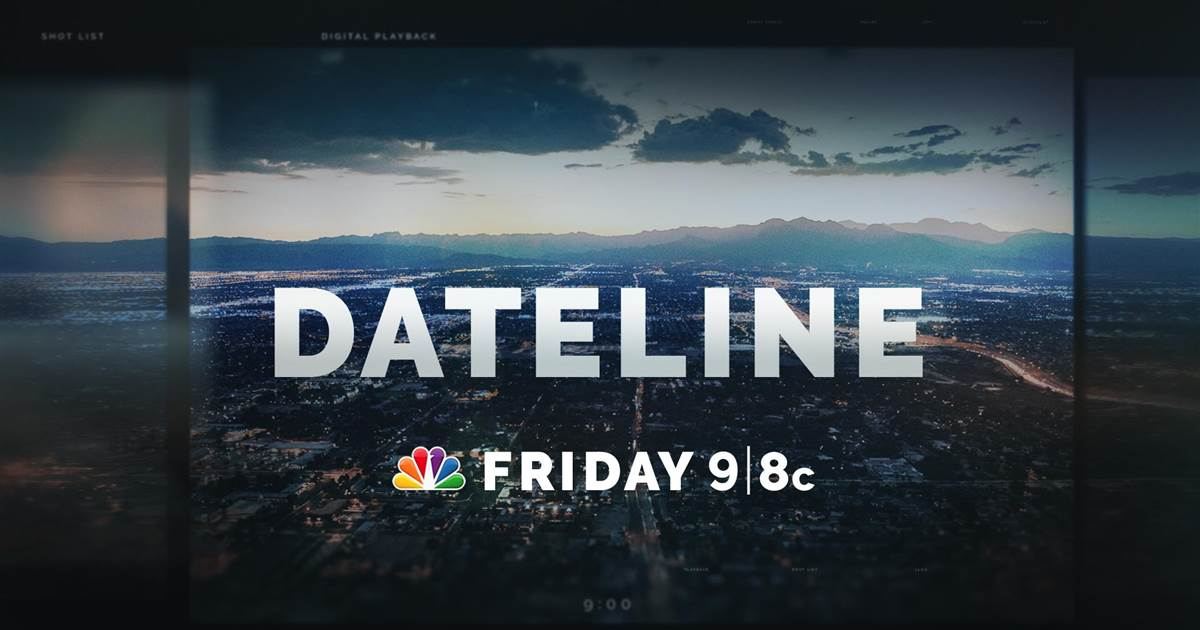 DATELINE FRIDAY PREVIEW: The Officer's Wife