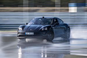 The Porsche Taycan just drifted its way into the Guinness World Records