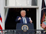 Trump tells crowd of hundreds 'I'm feeling great' in first public event since his COVID diagnosis