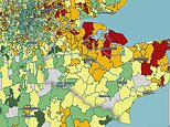 Shocking map proves vast swathes of Kent does have low infection rates