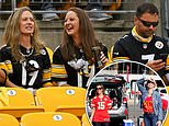 Thousands of Pittsburgh Steelers fans pack their stadium for the first time amid the pandemic