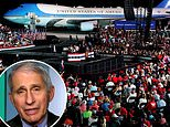 Dr. Fauci tells Trump NOT to use him in 'harassing' campaign ads