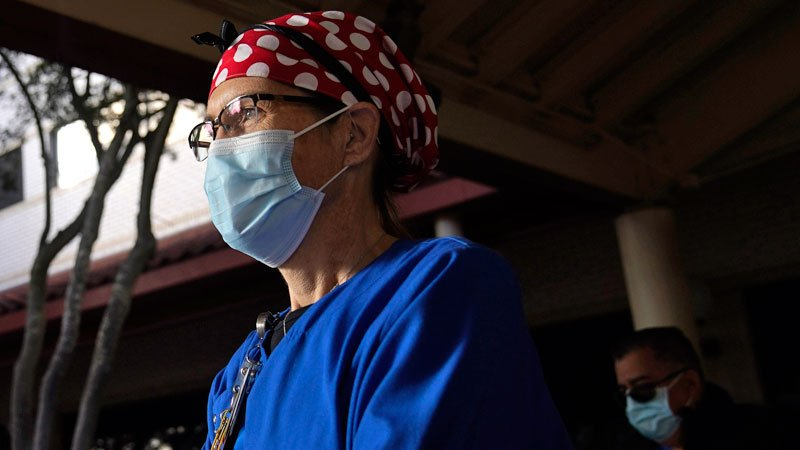 For Nurses Feeling the Strain of the Pandemic, Virus Resurgence Is 'Paralyzing'
