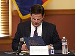 Trump lashes out at Arizona Gov. Doug Ducey after he 'ignored' a call from the White House