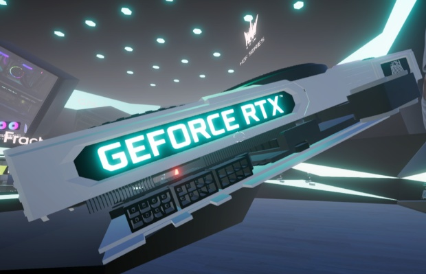 All-white GALAX GeForce RTX 30 HOF series graphics card unveiled with massive triple-fan cooling
