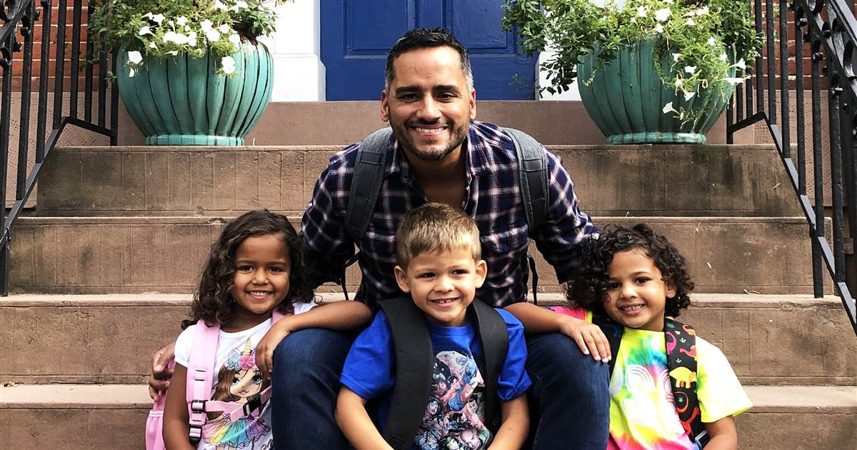 Why a single gay dad of 3 with a heartbreaking past is going viral