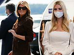Melania Trump skips campaigning while on visit to New Hampshire while Ivanka on four-state trip