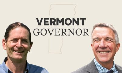 Live results of Vermont's governor race between Phil Scott and David Zuckerman