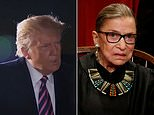 Tributes pour in for Justice Ruth Bader Ginsburg from Hillary Clinton and President George Bush