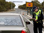 Man who tried to fly AND drive into Adelaide from Victoria is charged amid coronavirus outbreak