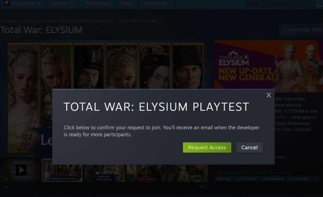 Steam Playtest makes it much easier to beta test PC games