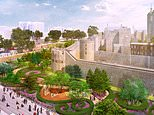 Tower of London bosses plan for garden in the moat to celebrate the Queen's Platinum Jubilee in 2022