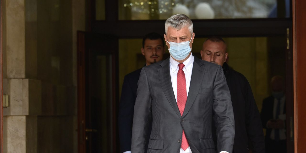 Kosovo President Resigns Amid War-Crimes Charges